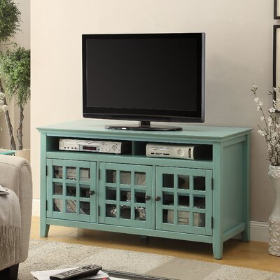 Naples Park 48 TV Stand Finish: Turquoise
