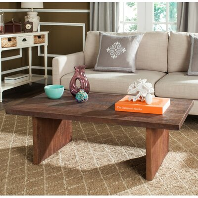 Einar Coffee Table Color: Brown
