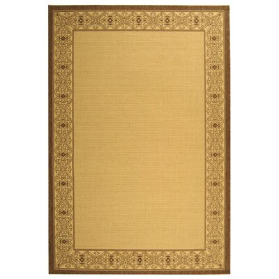 Romola Border Outdoor Rug Rug Size: Rectangle 53 x 77