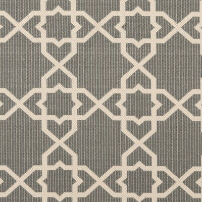 Ceri Grey/Beige Indoor/Outdoor Area Rug Rug Size: Rectangle 5 x 7-6