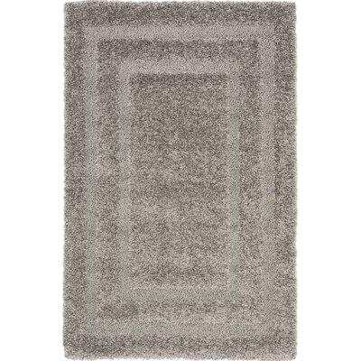 Altha Gray Area Rug Rug Size: Rectangle 4 x 6