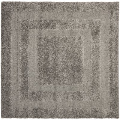 Altha Gray Area Rug Rug Size: Square 67