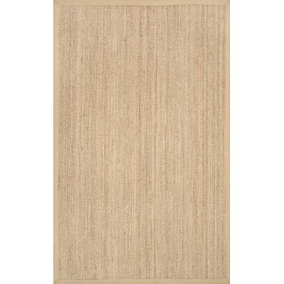 Mayfair Beige Area Rug Rug Size: 5 x 8