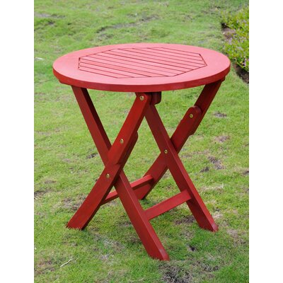 Bristol Side Table Finish: Barn Red