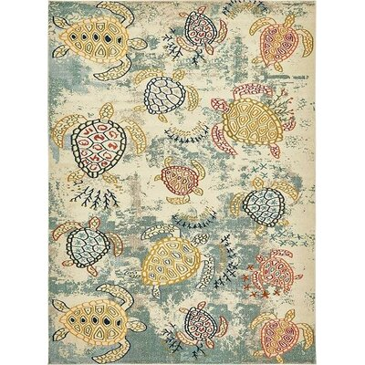 Gwen Beige Area Rug Rug Size: Rectangle 4 x 6