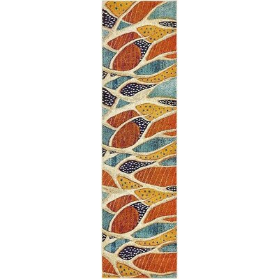 Stoneville Rust Red Area Rug Rug Size: Runner 2 7 x 10