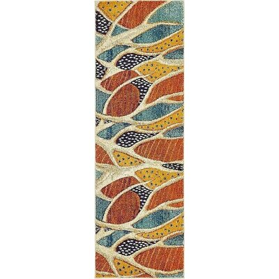 Ethel� Rust Red Area Rug Rug Size: Rectangle 9 x 12