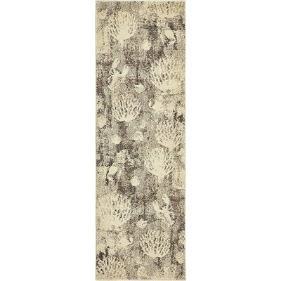 Dickenson Light Gray Area Rug Rug Size: Runner 22 x 67