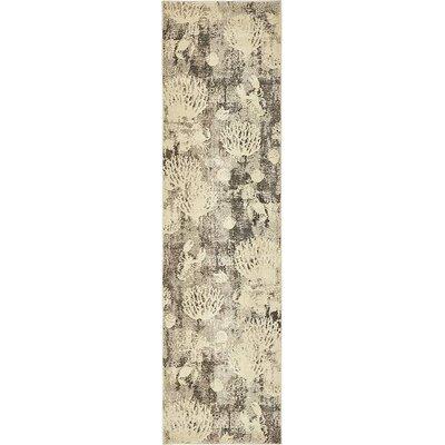 Dickenson Light Gray Area Rug Rug Size: Runner 27 x 10