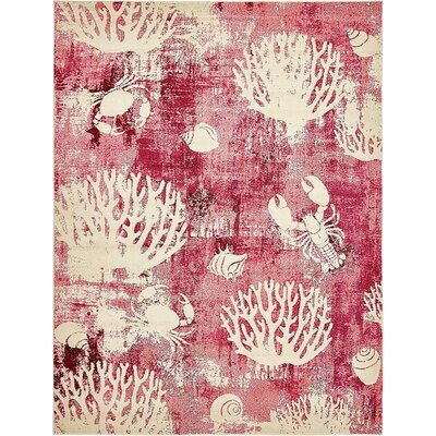 Stoneville Pink Area Rug Rug Size: 8 x 10
