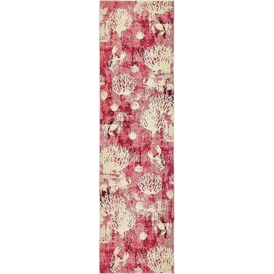 Stoneville Pink Area Rug Rug Size: Runner 2 7 x 10