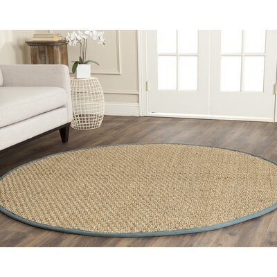 Boonville Natural/Light Blue Area Rug