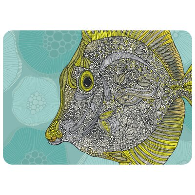 Redeker Yellow Kitchen Mat