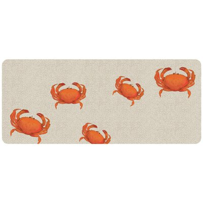 Annalise Crab Hooked Doormat