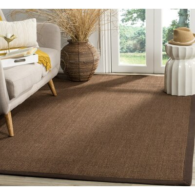 Monastiri Brown Area Rug Rug Size: Rectangle 9 x 12