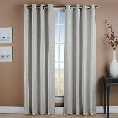 Gleason Grommet Thermal Blackout Single Curtain Panel