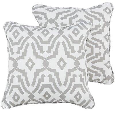Audina Indoor/Outdoor Throw Pillow Size: 22 H x 22 W x 5 D