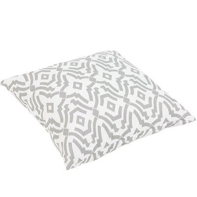 Audina Indoor/Outdoor Floor Pillow Color: Gray