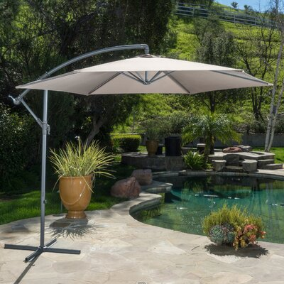 Fullerton Outdoor Cantilever Umbrella Fabric: Mocha