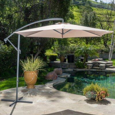 Fullerton Outdoor Cantilever Umbrella Fabric: Sand