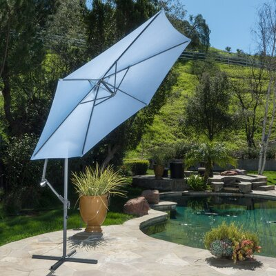 Fullerton Outdoor Cantilever Umbrella Fabric: Lavender Blue