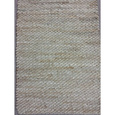 Worley Hand Woven Natural Area Rug Rug Size: 2 x 3