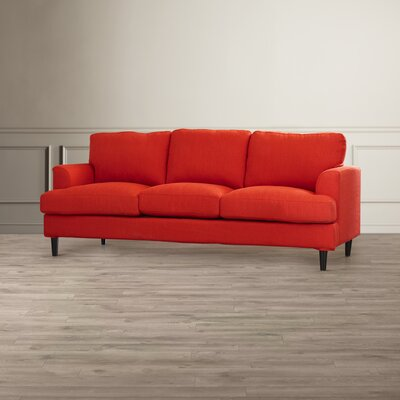 Lowes Replacement Sofa Slipcover Skirted: No, Upholstery: Sunrise Red Linen