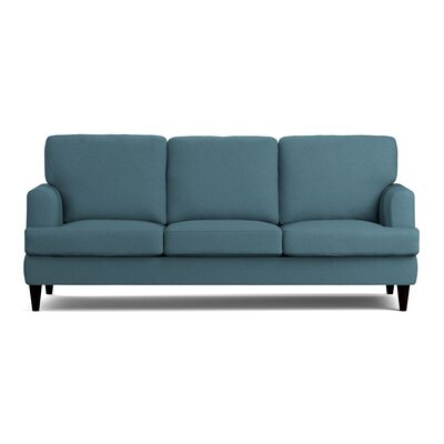 Lowes Replacement Sofa Slipcover Upholstery: Blue Linen, Skirted: No