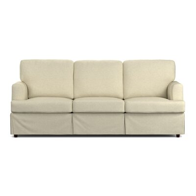 Lowes Replacement Sofa Slipcover Upholstery: Oatmeal Linen, Skirted: Yes