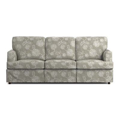 Lowes Replacement Sofa Slipcover Upholstery: Taupe Floral, Skirted: Yes