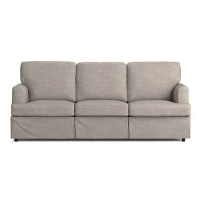Lowes Replacement Sofa Slipcover Upholstery: Dove Gray Linen, Skirted: Yes