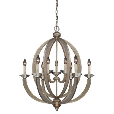 Georgetown 9-Light Candle-Style Chandelier