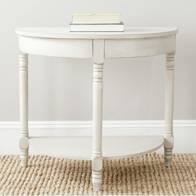 Swansea Console Table Finish: White