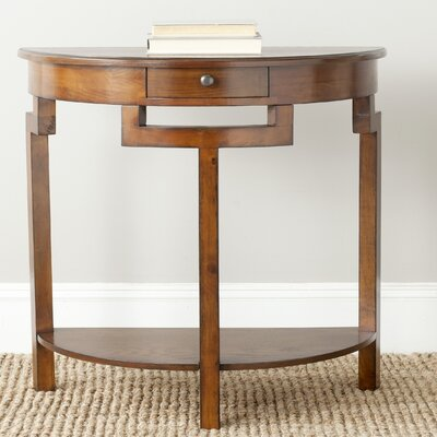 Swansea Console Table Color: Filbert Brown