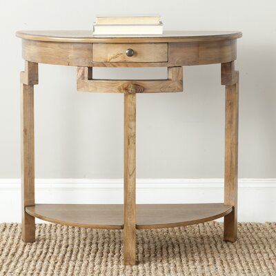Swansea Console Table Color: Oak