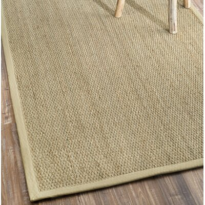 Mayfair Beige Area Rug Rug Size: Square 8
