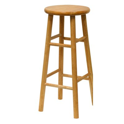 Wynyard 30 Bar Stool Finish: Natural