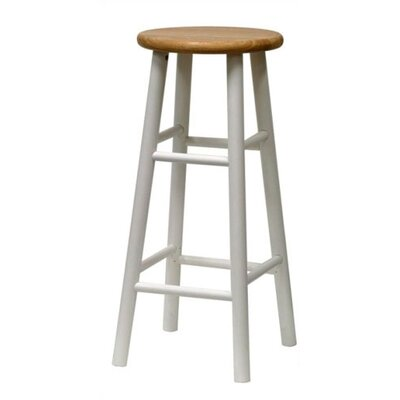 Wynyard 30 Bar Stool Finish: White