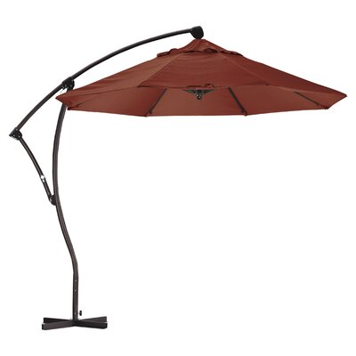 April 9 Cantilever Umbrella Fabric: Sunbrella AA Henna