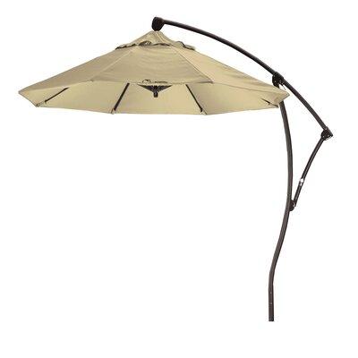 April 9 Cantilever Umbrella Fabric: Sunbrella A Antique Beige