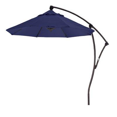 April 9 Cantilever Umbrella Fabric: Sunbrella A Navy