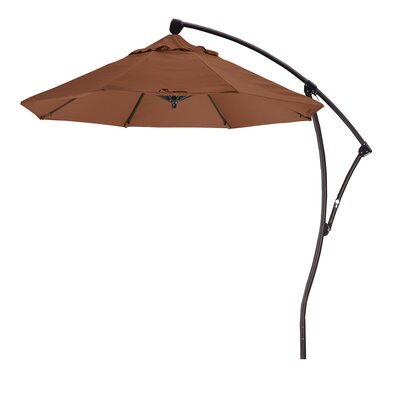 April 9 Cantilever Umbrella Fabric: Sunbrella A Cork