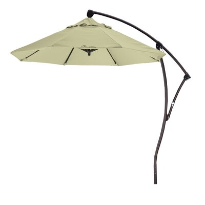 April 9 Cantilever Umbrella Fabric: Sunbrella A Canvas