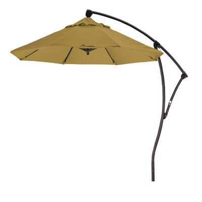 April 9 Cantilever Umbrella Fabric: Sunbrella A Brass