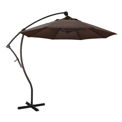 April 9 Cantilever Umbrella Fabric: Sunbrella - Bay Brown