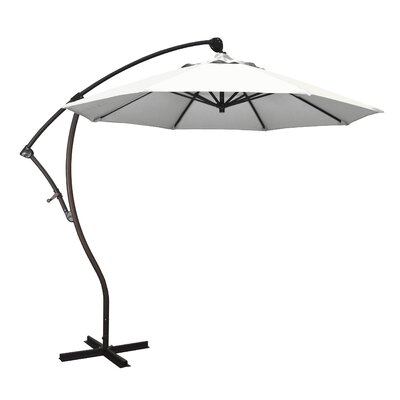 April 9 Cantilever Umbrella Fabric: Sunbrella-Natural