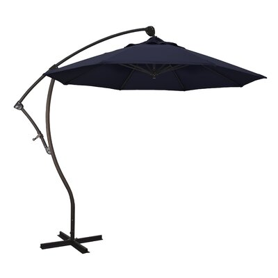 April 9 Cantilever Umbrella Fabric: Pacifica - Navy Blue