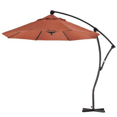 April 9 Cantilever Umbrella Fabric: Sunbrella - Canvas Brick