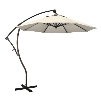 April 9 Cantilever Umbrella Fabric: Sunbrella - Canvas Vellum