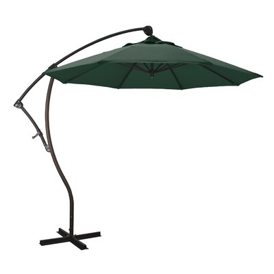 April 9' Cantilever Umbrella Fabric: Sunbrella - Forest Green BCHH3725 37526319